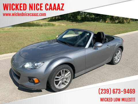 2015 Mazda MX-5 Miata for sale at WICKED NICE CAAAZ in Cape Coral FL