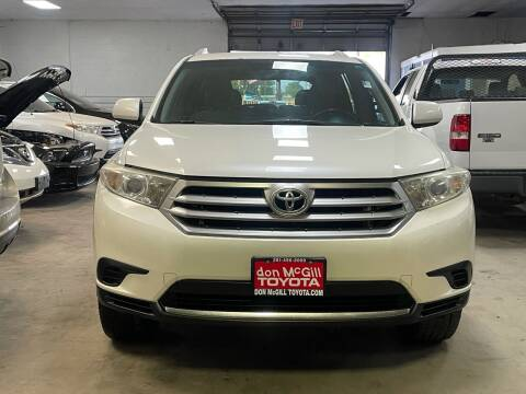 2013 Toyota Highlander for sale at Ricky Auto Sales in Houston TX