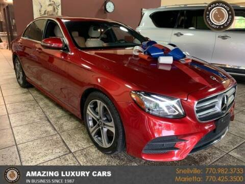 2019 Mercedes-Benz E-Class for sale at Amazing Luxury Cars in Snellville GA