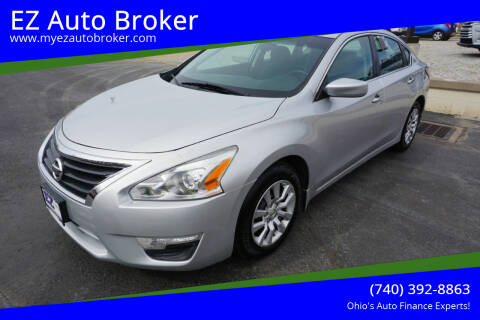 2015 Nissan Altima for sale at EZ Auto Broker in Mount Vernon OH
