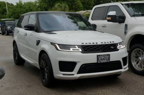 2018 Land Rover Range Rover Sport for sale at Michael's Auto Sales Corp in Hollywood FL