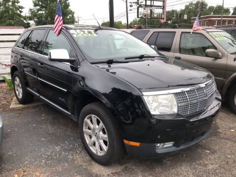 2007 Lincoln MKX for sale at Klein on Vine in Cincinnati OH