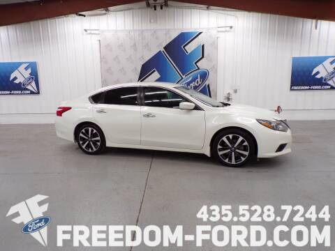 2016 Nissan Altima for sale at Freedom Ford Inc in Gunnison UT