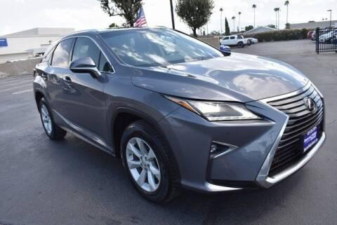 2016 Lexus RX 350 for sale at DIAMOND VALLEY HONDA in Hemet CA