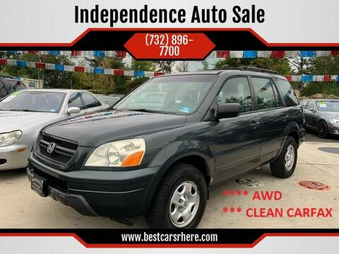 2005 Honda Pilot for sale at Independence Auto Sale in Bordentown NJ