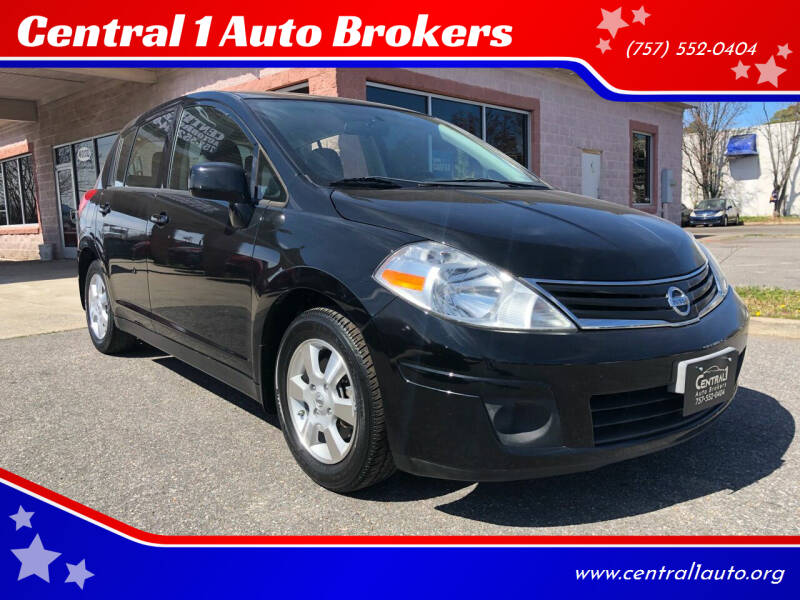 2012 Nissan Versa for sale at Central 1 Auto Brokers in Virginia Beach VA