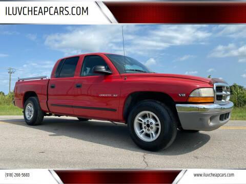 2000 Dodge Dakota for sale at ILUVCHEAPCARS.COM in Tulsa OK