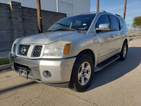 2004 Nissan Armada for sale at ZNM Motors in Irving TX