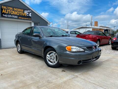2004 Pontiac Grand Am for sale at Dalton George Automotive in Marietta OH