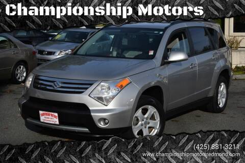 2007 Suzuki XL7 for sale at Mudarri Motorsports - Championship Motors in Redmond WA