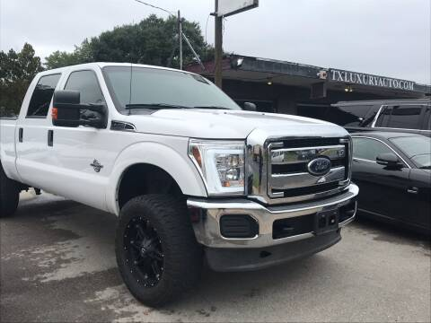 2012 Ford F-250 Super Duty for sale at Texas Luxury Auto in Houston TX