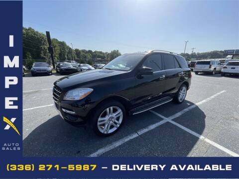 2015 Mercedes-Benz M-Class for sale at Impex Auto Sales in Greensboro NC