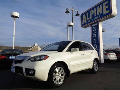 2010 Acura RDX for sale at Alpine Auto Sales in Salt Lake City UT