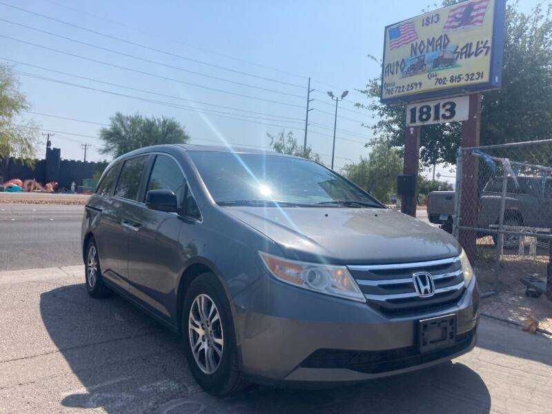 2013 Honda Odyssey for sale at Nomad Auto Sales in Henderson NV