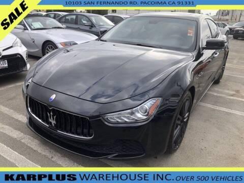 2015 Maserati Ghibli for sale at Karplus Warehouse in Pacoima CA