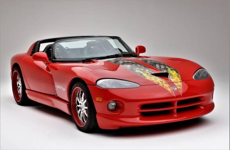 2001 Dodge Viper for sale at Limitless Garage Inc. in Rockville MD
