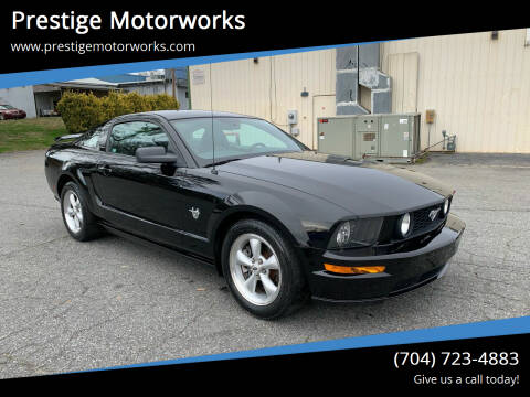 2009 Ford Mustang for sale at Prestige Motorworks in Concord NC