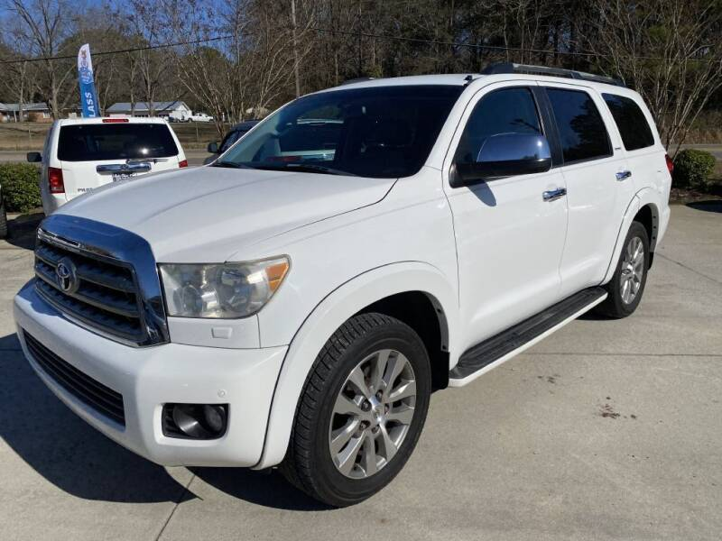 2008 Toyota Sequoia for sale at Auto Class in Alabaster AL