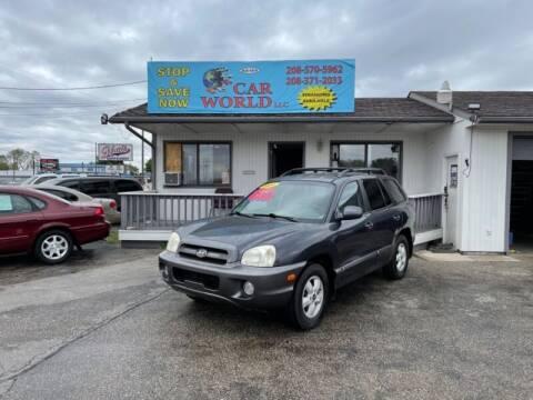 2006 Hyundai Santa Fe for sale at CAR WORLD in Nampa ID