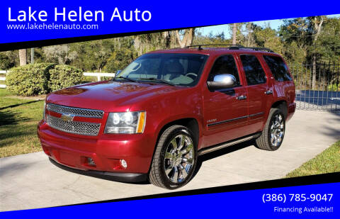 2011 Chevrolet Tahoe for sale at Lake Helen Auto in Lake Helen FL