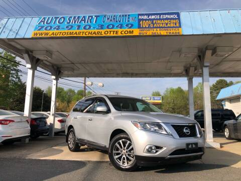2014 Nissan Pathfinder for sale at Auto Smart Charlotte in Charlotte NC