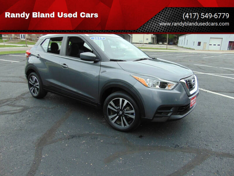 2019 Nissan Kicks for sale at Randy Bland Used Cars in Nevada MO