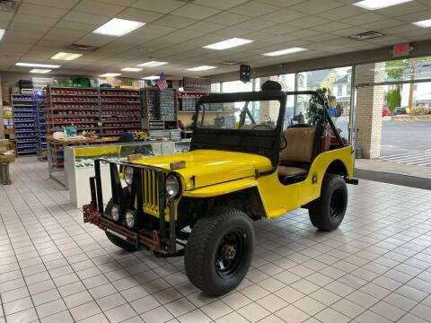 1950 Willys CJ-2A for sale at FIESTA MOTORS in Hagerstown MD
