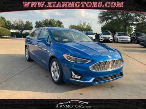 2020 Ford Fusion for sale at KIAN MOTORS INC in Denton TX