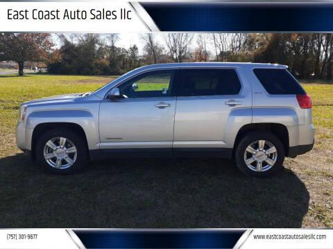2014 GMC Terrain for sale at East Coast Auto Sales llc in Virginia Beach VA