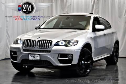 2013 BMW X6 for sale at ZONE MOTORS in Addison IL