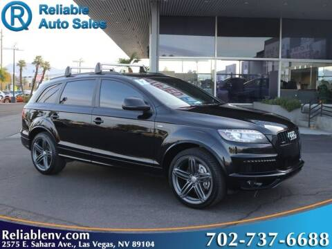 2012 Audi Q7 for sale at Reliable Auto Sales in Las Vegas NV
