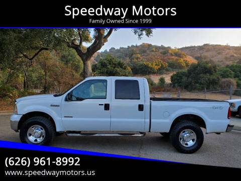 2007 Ford F-250 Super Duty for sale at Speedway Motors in Glendora CA
