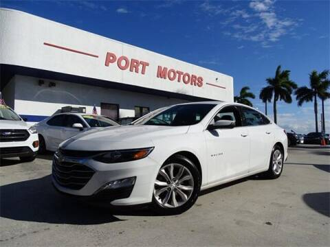 2019 Chevrolet Malibu for sale at Automotive Credit Union Services in West Palm Beach FL