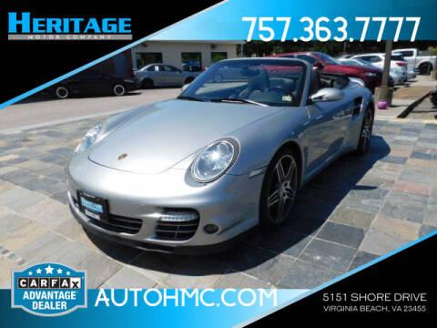 2008 Porsche 911 for sale at Heritage Motor Company in Virginia Beach VA