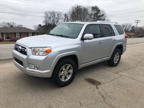 2010 Toyota 4Runner for sale at E Motors LLC in Anderson SC