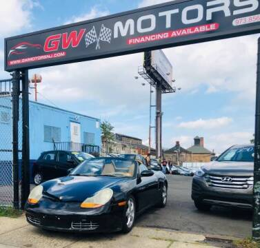 2001 Porsche Boxster for sale at GW MOTORS in Newark NJ