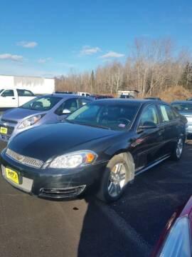 2012 Chevrolet Impala for sale at Jeff's Sales & Service in Presque Isle ME