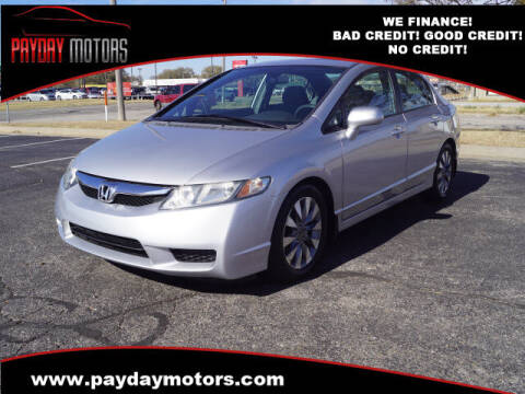 2009 Honda Civic for sale at Payday Motors in Wichita And Topeka KS