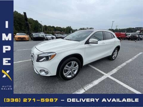 2018 Mercedes-Benz GLA for sale at Impex Auto Sales in Greensboro NC