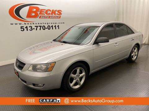 2008 Hyundai Sonata for sale at Becks Auto Group in Mason OH