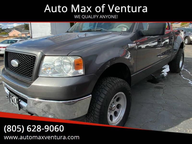 2006 Ford F-150 for sale at Auto Max of Ventura in Ventura CA