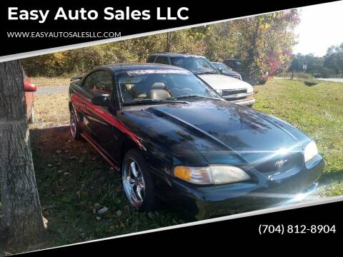 1997 Ford Mustang for sale at Easy Auto Sales LLC in Charlotte NC