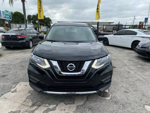 2017 Nissan Rogue for sale at America Auto Wholesale Inc in Miami FL