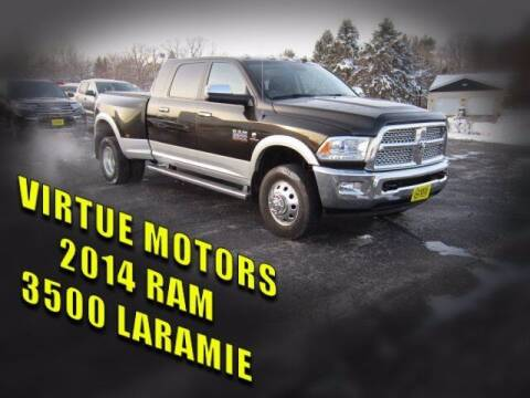 2014 RAM Ram Pickup 3500 for sale at Virtue Motors Used in Darlington WI
