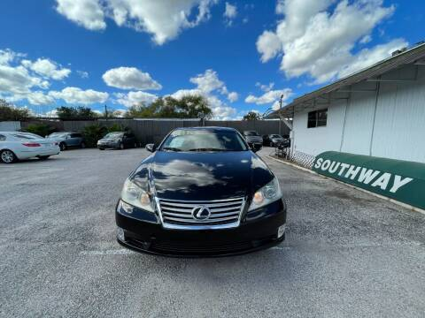 2011 Lexus ES 350 for sale at SOUTHWAY MOTORS in Houston TX