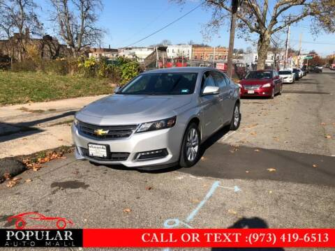 2019 Chevrolet Impala for sale at Popular Auto Mall Inc in Newark NJ
