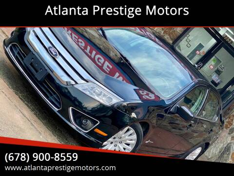 2012 Ford Fusion Hybrid for sale at Atlanta Prestige Motors in Decatur GA