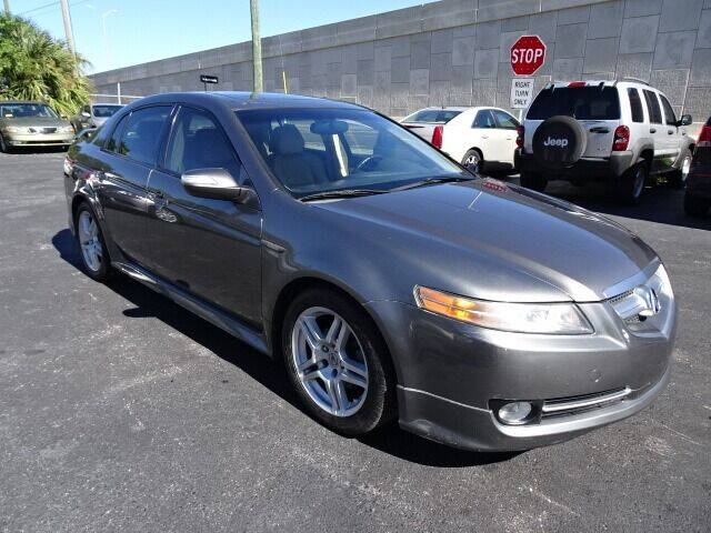 2008 Acura TL for sale at DONNY MILLS AUTO SALES in Largo FL
