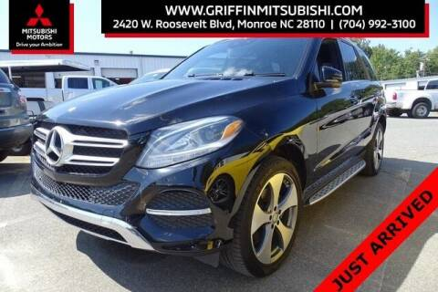 2016 Mercedes-Benz GLE for sale at Griffin Mitsubishi in Monroe NC