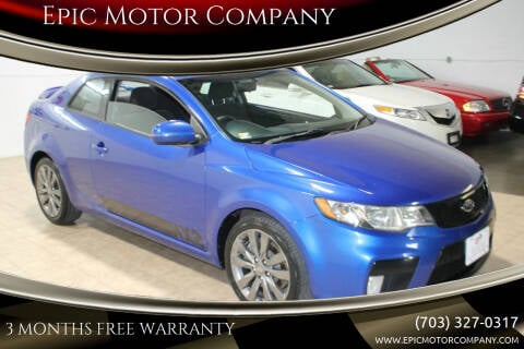 2011 Kia Forte Koup for sale at Epic Motor Company in Chantilly VA